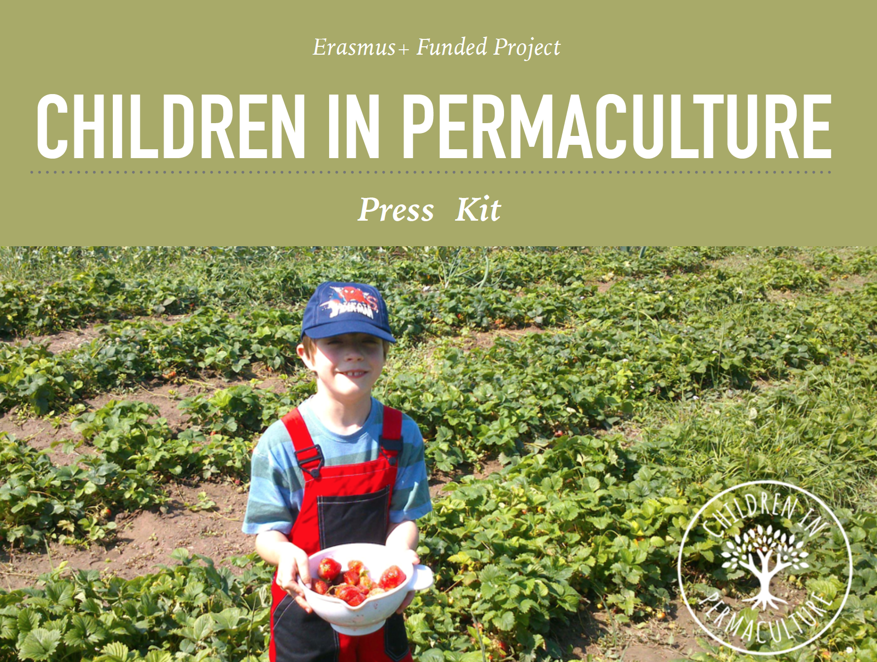 children in permaculture presskit